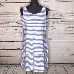 HiHo NWT S Hydrangea Stripe Resort Saba Tank Dress